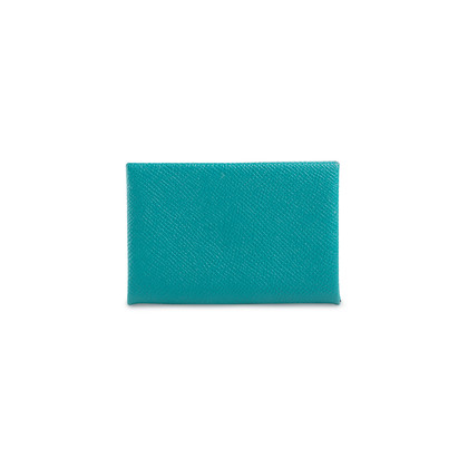 Authentic Second Hand Hermès Calvi Card Holder (PSS-901-00027)