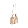 Authentic Second Hand Christian Dior Python Lady Dior Bag (PSS-235-00147) - Thumbnail 4