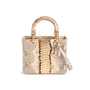 Authentic Second Hand Christian Dior Python Lady Dior Bag (PSS-235-00147) - Thumbnail 0