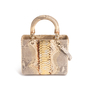 Authentic Second Hand Christian Dior Python Lady Dior Bag (PSS-235-00147) - Thumbnail 2