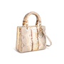 Authentic Second Hand Christian Dior Python Lady Dior Bag (PSS-235-00147) - Thumbnail 1