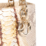 Authentic Second Hand Christian Dior Python Lady Dior Bag (PSS-235-00147) - Thumbnail 5