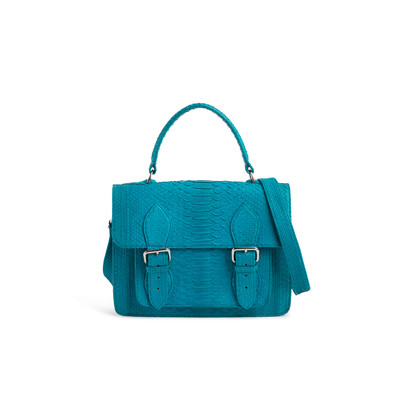 Authentic Second Hand Klove Python Messenger Bag (PSS-047-00228)