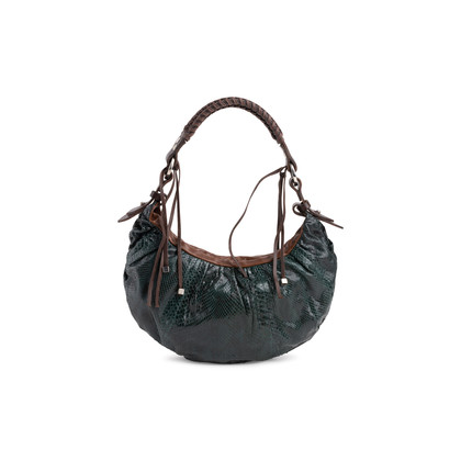 Authentic Second Hand Pauric Sweeney Python Shoulder Bag (PSS-047-00230)