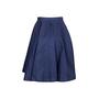 Authentic Second Hand Miu Miu Exposed Zip Detail Skirt (PSS-235-00177) - Thumbnail 1