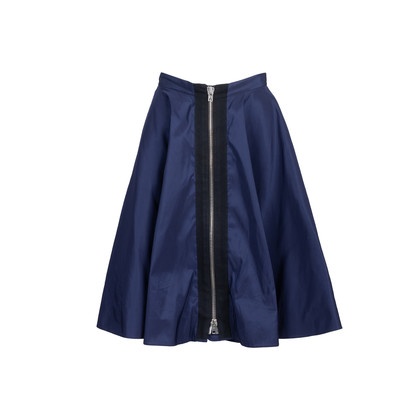Authentic Second Hand Miu Miu Exposed Zip Detail Skirt (PSS-235-00177)