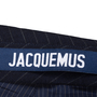 Authentic Second Hand Jacquemus Pinstripe Wool Skirt (PSS-235-00175) - Thumbnail 3