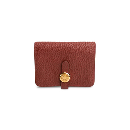 Authentic Second Hand Hermès Dogon Card Holder (PSS-088-00180)