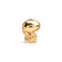 Authentic Second Hand Yves Saint Laurent Gold Arty Ring (PSS-088-00161) - Thumbnail 1