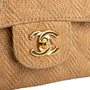 Authentic Second Hand Chanel Woven Classic Flap Bag (PSS-420-00102) - Thumbnail 4