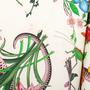 Authentic Second Hand Gucci Flora Snake Shirt Dress (PSS-235-00193) - Thumbnail 3