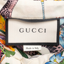 Authentic Second Hand Gucci Flora Snake Shirt Dress (PSS-235-00193) - Thumbnail 6