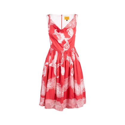 Authentic Second Hand Vivienne Westwood Anglomania Printed Cotton Dress (PSS-235-00202)