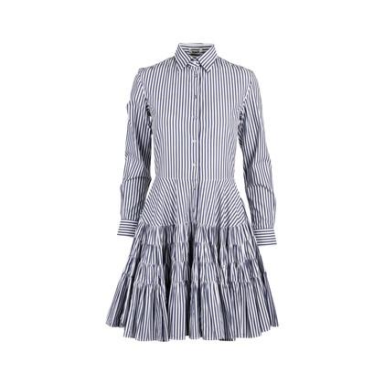 Authentic Second Hand Jourden Ruffled Shirt Dress (PSS-235-00207)