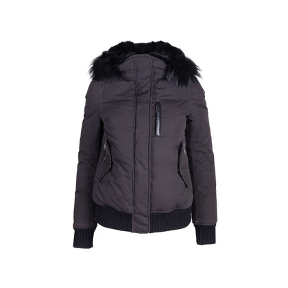 Authentic Second Hand Mackage Fur Hood Bomber Jacket (PSS-088-00191)