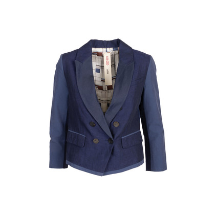 Authentic Second Hand Kenzo Défilé Double Breasted Blazer (PSS-370-00142)