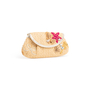 Authentic Second Hand Anya Hindmarch Seashell Straw Clutch (PSS-126-00159) - Thumbnail 1
