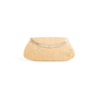 Authentic Second Hand Anya Hindmarch Seashell Straw Clutch (PSS-126-00159) - Thumbnail 2