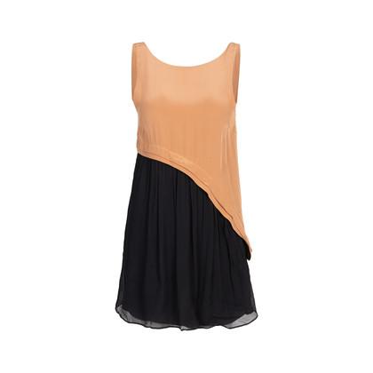 Authentic Second Hand Vena Cava Two Tone Silk Dress (PSS-088-00257)