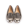 Authentic Second Hand Christian Louboutin Spike Rollergirl Flats (PSS-916-00010) - Thumbnail 0