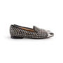 Authentic Second Hand Christian Louboutin Spike Rollergirl Flats (PSS-916-00010) - Thumbnail 1