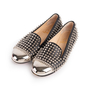 Authentic Second Hand Christian Louboutin Spike Rollergirl Flats (PSS-916-00010) - Thumbnail 3