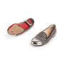 Authentic Second Hand Christian Louboutin Spike Rollergirl Flats (PSS-916-00010) - Thumbnail 4
