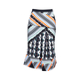 Authentic Second Hand Peter Pilotto Printed Pleated Skirt (PSS-034-00064) - Thumbnail 0