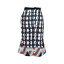 Authentic Second Hand Peter Pilotto Printed Pleated Skirt (PSS-034-00064) - Thumbnail 1