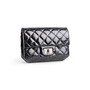 Authentic Second Hand Chanel 2.55 Patent Leather Pouch (PSS-034-00069) - Thumbnail 1