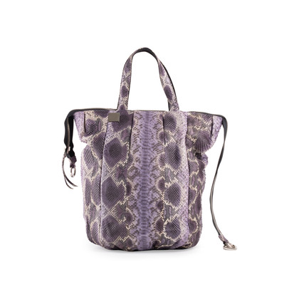 Authentic Second Hand Sang A Pop Python Tote Bag (PSS-916-00035)