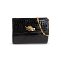 Authentic Second Hand Pierre Guijarro Embellished Crocodile Clutch (PSS-916-00046) - Thumbnail 5