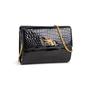 Authentic Second Hand Pierre Guijarro Embellished Crocodile Clutch (PSS-916-00046) - Thumbnail 6
