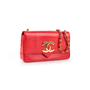 Authentic Vintage Chanel Lizard CC Flap Bag (PSS-916-00055) - Thumbnail 1