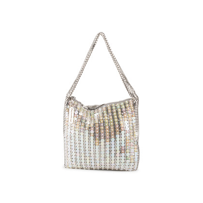 Authentic Vintage Whiting and Davis Sequin Mesh Bag (PSS-916-00062)