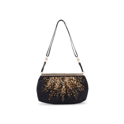 Authentic Second Hand Bottega Veneta Embellished Frame Evening Bag (PSS-916-00063)