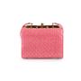 Authentic Vintage Judith Leiber Studded Lizard Box Bag (PSS-916-00057) - Thumbnail 3