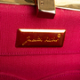 Authentic Vintage Judith Leiber Studded Lizard Box Bag (PSS-916-00057) - Thumbnail 8