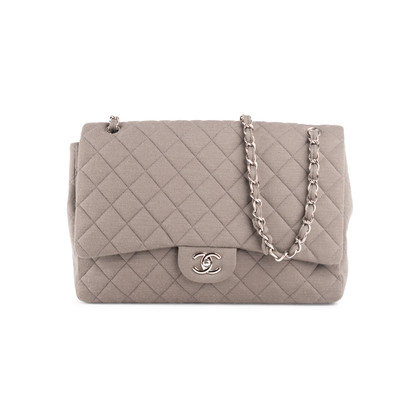 Authentic Second Hand Chanel Classic Flap Jumbo Jersey (PSS-860-00075)