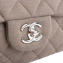 Authentic Second Hand Chanel Classic Flap Jumbo Jersey (PSS-860-00075) - Thumbnail 5
