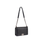 Authentic Second Hand Chanel Studded Medium Boy Bag (PSS-860-00076) - Thumbnail 5