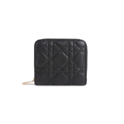 Authentic Second Hand Christian Dior Lady Dior Medium Wallet (PSS-800-00013)