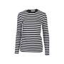 Authentic Second Hand Maison Kitsuné Tricolour Fox-patch Striped Shirt (PSS-609-00006) - Thumbnail 0
