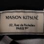 Authentic Second Hand Maison Kitsuné Tricolour Fox-patch Striped Shirt (PSS-609-00006) - Thumbnail 2