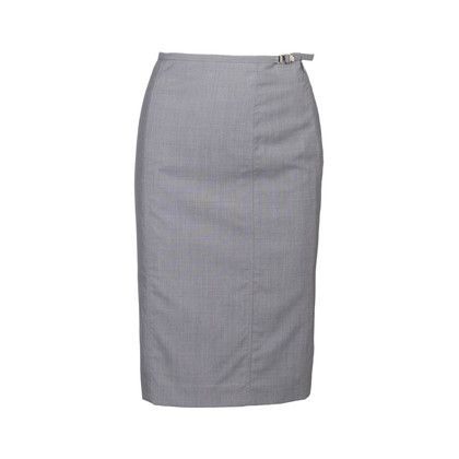 Authentic Second Hand Gucci Wool Pencil Skirt (PSS-923-00002)
