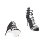 Authentic Second Hand Fendi Crystal Cage Sandals (PSS-916-00094) - Thumbnail 5