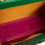 Authentic Vintage Helene Angeli Brocade Suede Handbag (PSS-916-00108) - Thumbnail 6