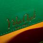 Authentic Vintage Helene Angeli Brocade Suede Handbag (PSS-916-00108) - Thumbnail 7