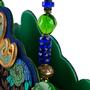 Authentic Vintage Helene Angeli Brocade Suede Handbag (PSS-916-00108) - Thumbnail 4