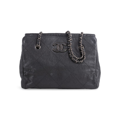 Authentic Second Hand Chanel 2011 Hamptons Shopping Tote (PSS-925-00004)